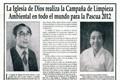 [México] La Iglesia de Dios realiza la Campana de Limpieza Ambiental en todo el mundo para la Pasua 2012- IDDSMM